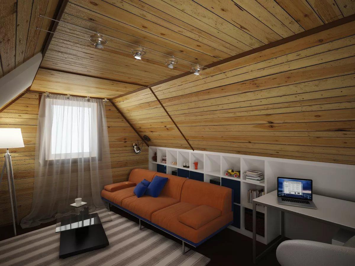 Отделка деревянного дома внутри фото второй этаж рекомендуем одного